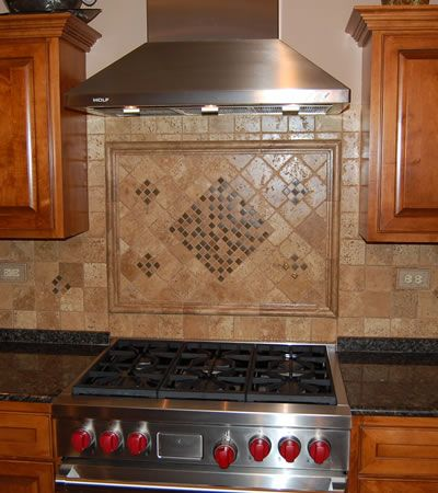 Easy install backsplash ideas and kitchen backsplash on pinterest - Simple kitchen tiles ...