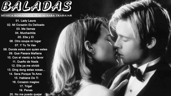 Música Romántica 70 80 90 Para Trabajar Y Concentrarse Baladas Romanticas En Español Viejitas Youtube Cant Help Falling In Love Love Songs Romantic Songs