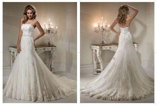 Maggie Sottero #wedding #gown
