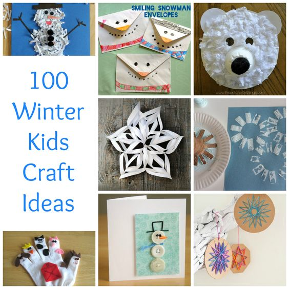 winter craft ideas for children december holidays crafts and winter on 7330