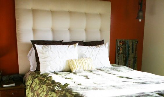 Alright folks, I'm finally bunkering down and giving the tutorial on how to make a padded, tufted, headboard. Anyone can do this if they ha...