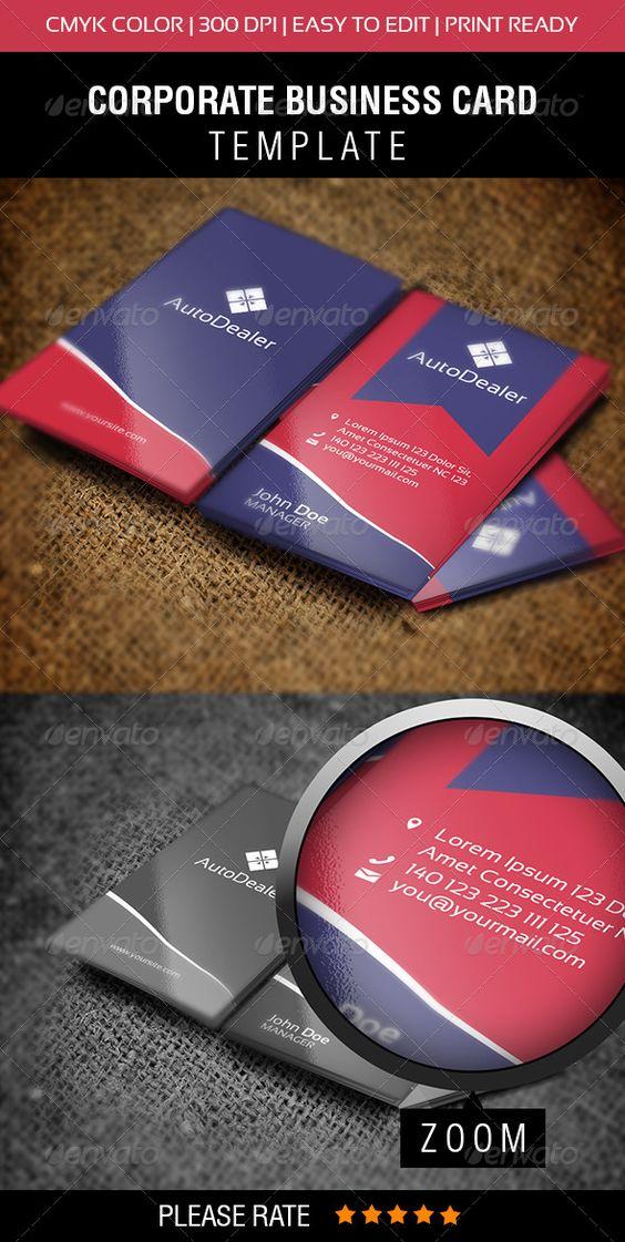 AutoDealer Business Card