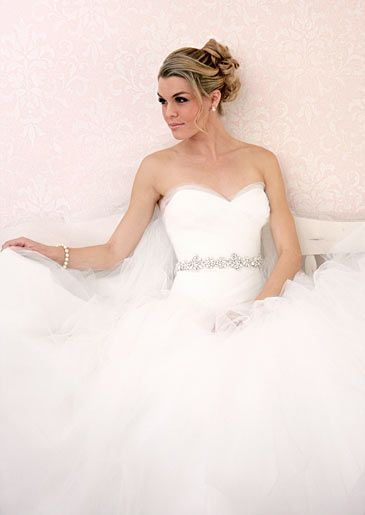 Victoria Nicole's gown No. 712 with sweetheart neckline, priced at ...