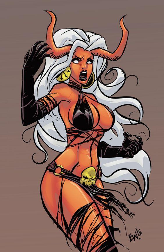 Lady Demon - Commission by EryckWebbGraphics