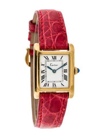 Cartier Must de Cartier Tank Watch