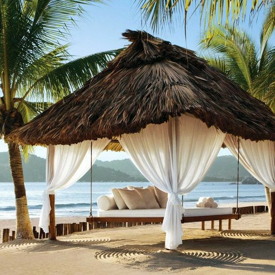 Viceroy Zihuatanejo Resort, Mexico. Relax in one of our resort bikinis right HERE! www.ujena.com