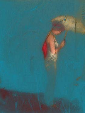 "Elisabeth Brainos; ""Reflexion au fond de la mer"""