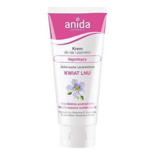 Anida Hand And Nail Cream Filler Soothing Flax Flower 100ml Uk Cream Nails Flax Flowers Online Cosmetics