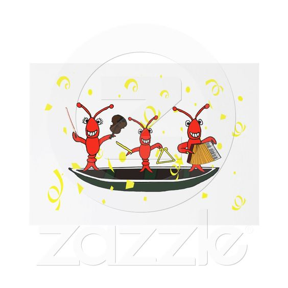 Cute Cajun Music Crawfish Party Invitations from Zazzle – Zazzle Party Invitations