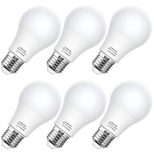 E27 Led Lampe Lohas 9w 60w Ersatz Durchmesser 60 X 109 820lm Warmweiss 3000k Abstrahlwinkel 240 Nicht Dimmbar Led Lampen L In 2020 Led Lampe Led Leuchtmittel Led Birnen