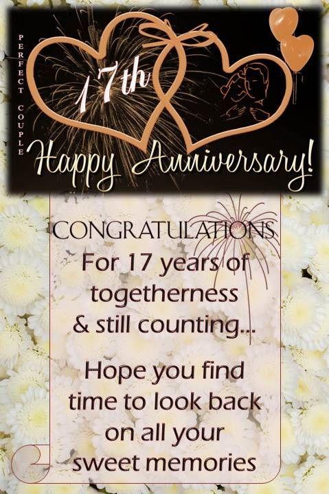 17th Wedding Anniversary Wishes Wedding Anniversary Wishes Happy 18th Anniversary 25th Wedding Anniversary Wishes
