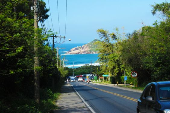 estrada-praia-mole-florianopolis: