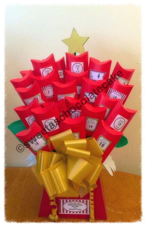 #christmas #adventcalander #sweets #chocolate   Facebook.com/sweetaschocolatecake