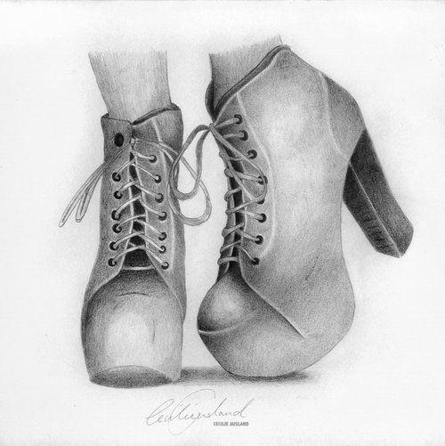 طراحی کفش سیاه قلم Shoe Design Sketches Fashion Illustration Shoes Shoe Sketches