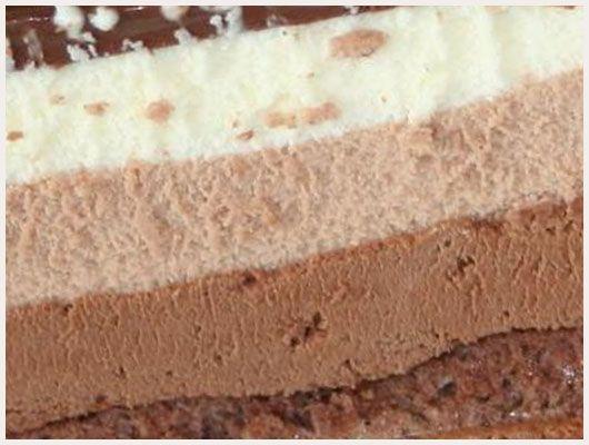 Gateau 3 chocolats facile mais long à faire, trooop bon !