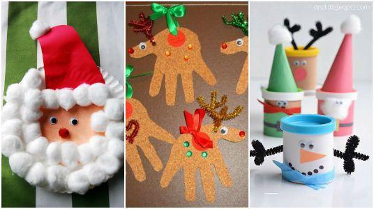 10 Manualidades Navideñas para Niños ¡Mucha Creatividad! cuzco