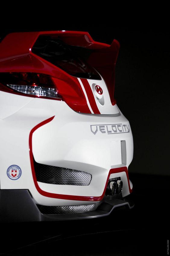 Hyundai показал Velocity Veloster Concept | Cars and Catalog