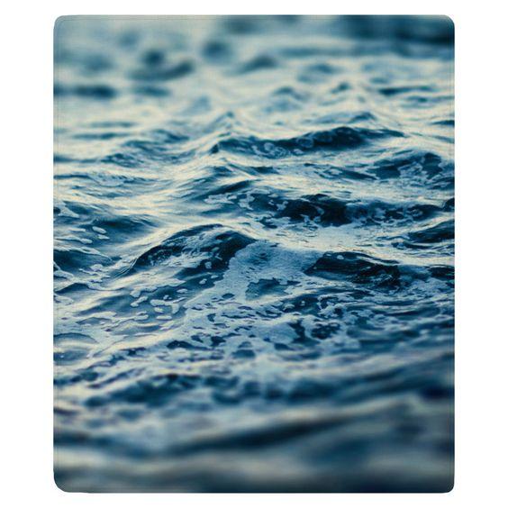 Ocean Magic Fleece Throw