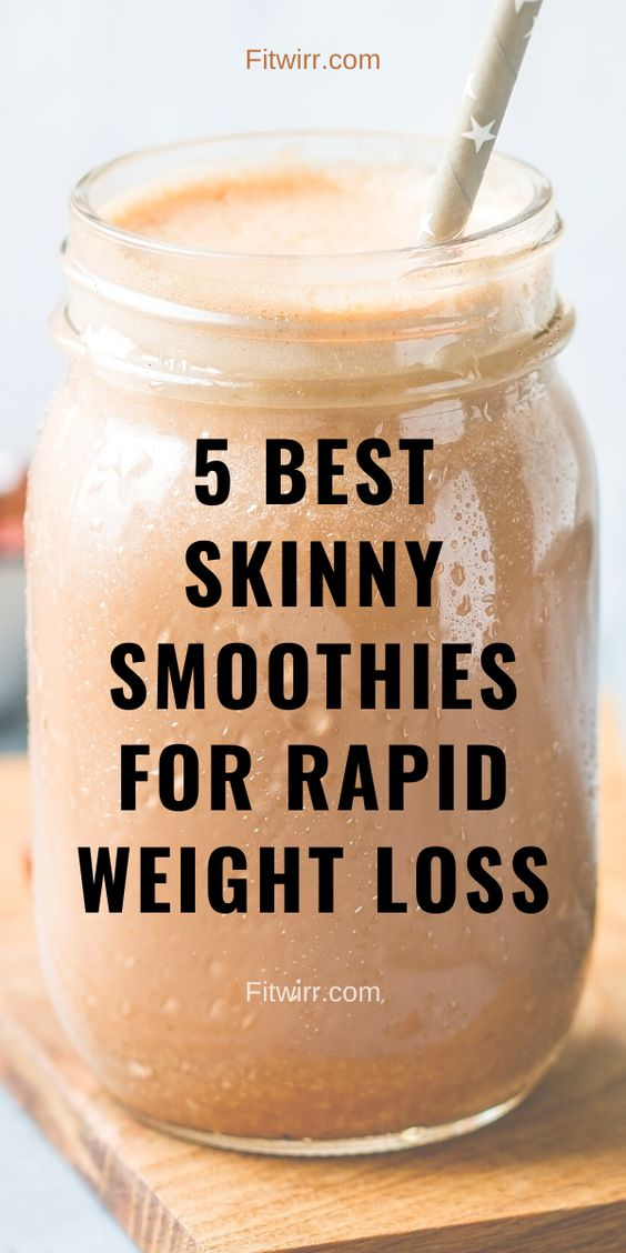 5 Best Smoothie Recipes for Weight Loss