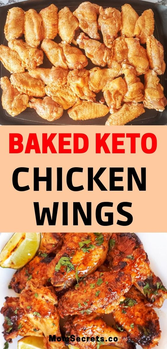 Baked Keto Chicken Wings - Sweet & Spicy