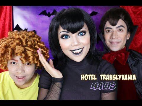 Hotel Transylvania Mavis Makeup Tutorial - YouTube