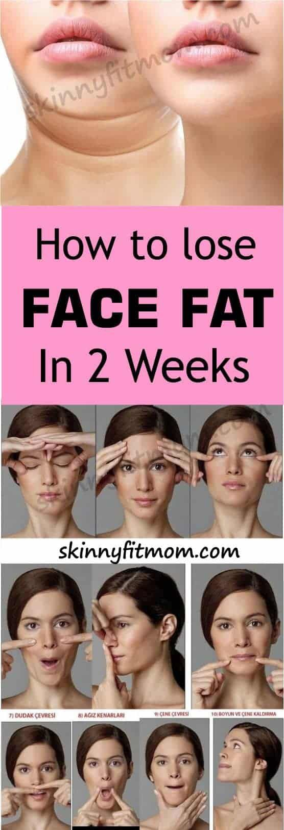 Pin on Lose weight in your face