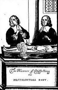 Modo de hacer la disección al cadáver del apestado (1666). #plague