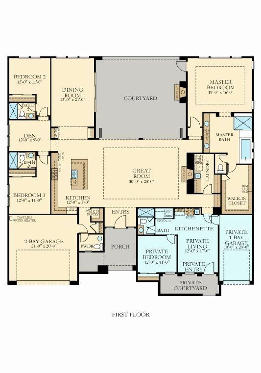 Lennar Homes Floor Plans Florida Best Of Floor Plan Maker 3475 Next Gen By Lennar New Home Plan New House Plans Ranch House Plans Multigenerational House Plans