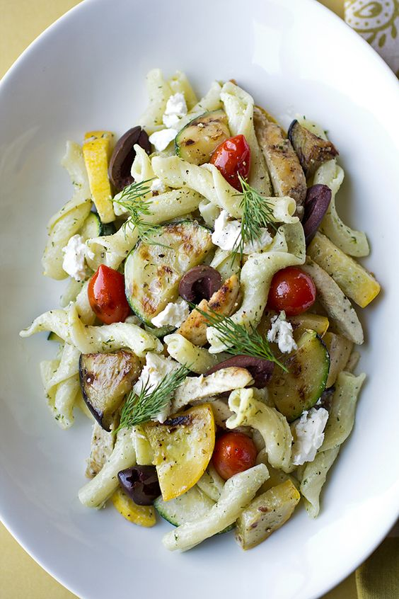 Warm penne pasta salad recipes