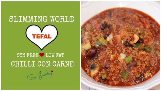 Slimming World Syn Free Low Fat Tefal Actifry Chilli Con