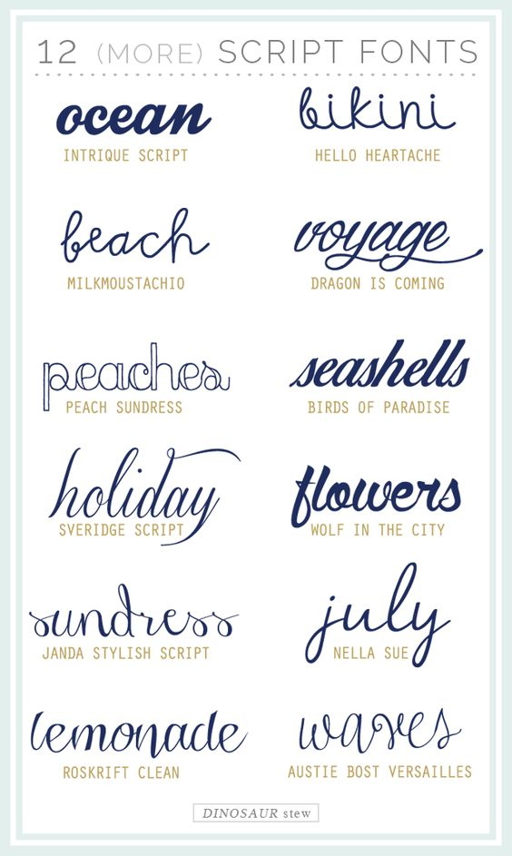 Twelve More Script Fonts These Are Free Too  Fonts Monograms