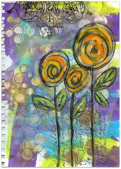 Art Journal Page by Roben-Marie