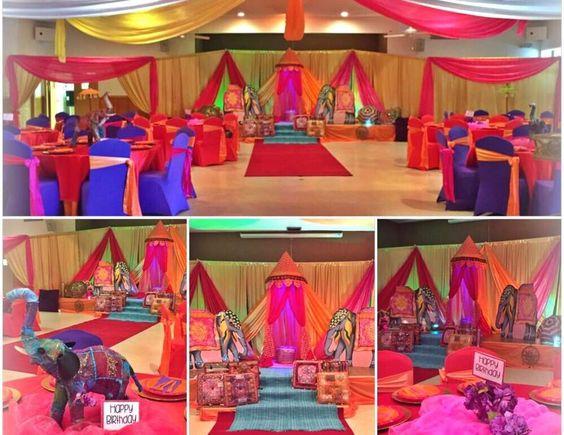 Decoracion hindu para fiestas buscar con google for Decoracion estilo hindu