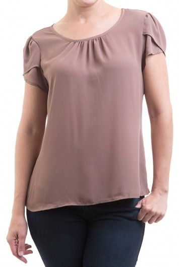 Type 2 Tender Taupe Top - $39.97