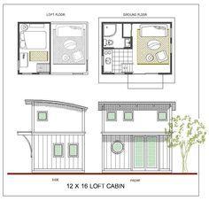 12x16 loft home