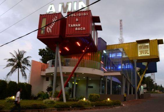 Amin Library, Batu City, East Java, Indonesia.
