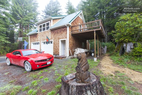 Guest Cottage in the Woods in McKinleyville