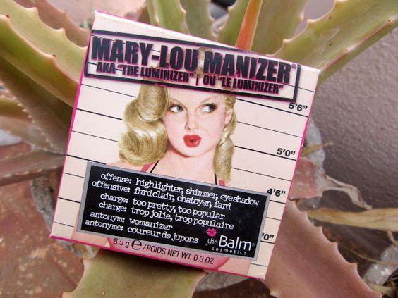 theBalm Mary Lou Manizer Review, Swatch, FOTD
