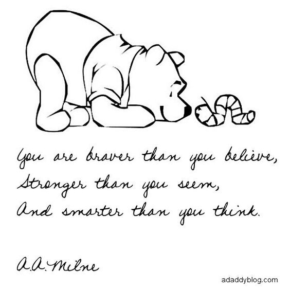 Winnie The Pooh Quote If Ever There Is A Tomorrow: Pinterest • The World's Catalog Of Ideas