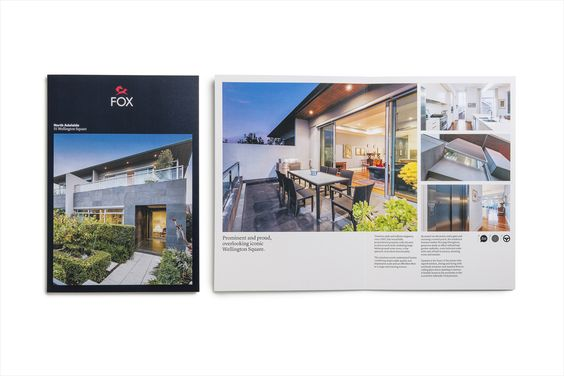 New Brand Identity For Fox Real Estate By Parallax  BpO  Brand