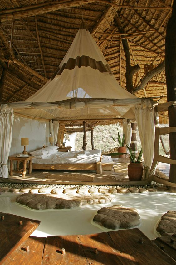 Shompole Lodge, Masai Mara, Lake Magadi National Park, Kenya designed by Neil Rocher Design