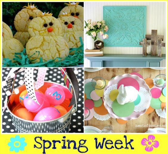 Nearly 200 Spring ideas from dozens of different blogs all in one place! If you've posted about spring...join in the fun here!