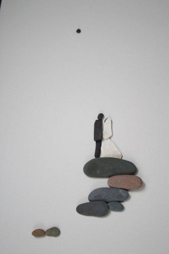 ¿Cómo pueden unas simples y pequeñas rocas ayudarnos a decorar nuestro hogar?