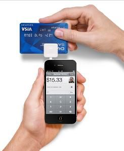 """""""Square"""" credit card reader for iPhones"""