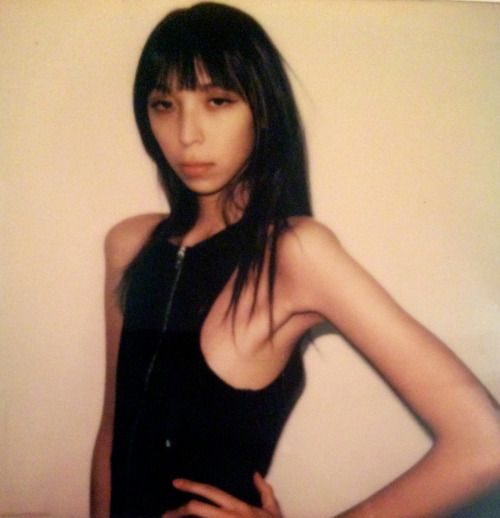 thevonford:  Issa Lish @ Muse Polaroid by thevonford