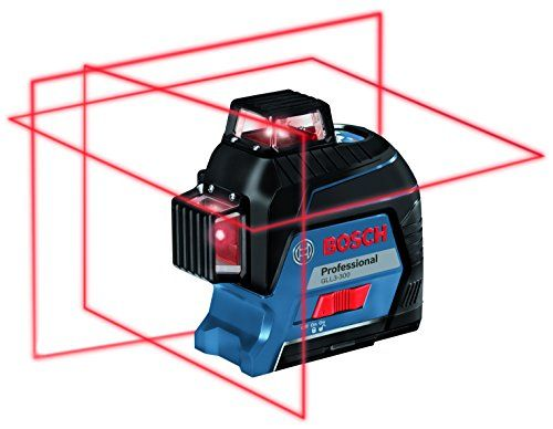 Bosch Gll3 300 360 Three Plane Leveling And Alignment Line Laser Laser Levels Red Beam Bosch