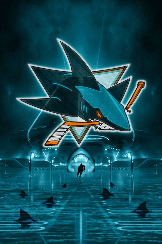 iPhone 4 San Jose Sharks background designed by puckguy14