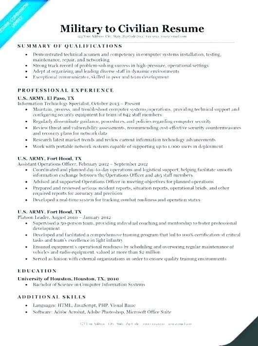 Resume Templates Veterans Resume Help Templates Professional