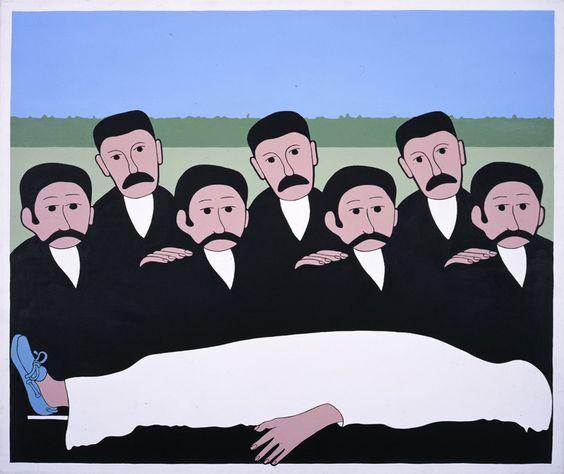 John-Wesley,-Quien-Es,-1976,-acrylic-on-canvas,-10
