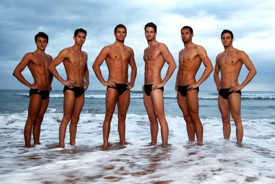 Australian Swim Team. Aussie Aussie Aussie...
